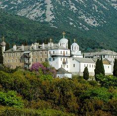 The Skete of Prodromou, Mount Athos, Greece | by helmut_f