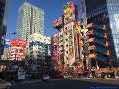 O paraíso do eletrônicos em Akihabara - Tokyo