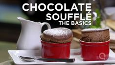 How to Make a Chocolate Soufflé - The Basics on QVC