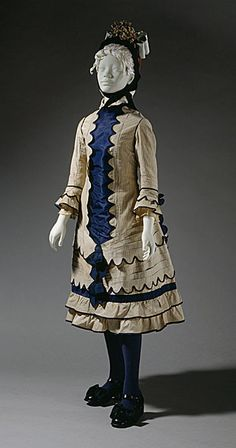 Girl's Dress,    1881,    The Los Angeles County Museum of Art.
