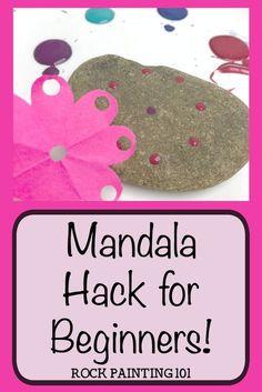 Mandala Rock Tutorial