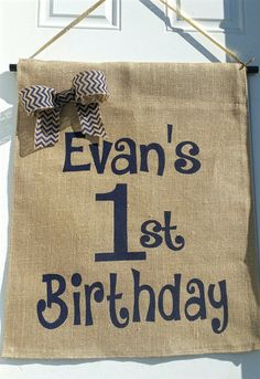 Check out this item in my Etsy shop https://www.etsy.com/listing/267823742/personalized-happy-birthday-banner-first #happybirthday #birthdaybanner #etsy #handmade #birthdayparty