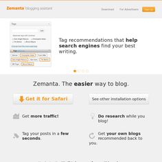Website 'http://www.zemanta.com/'
