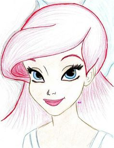ariels definitely the most beautiful disney princess interpreted by artists.