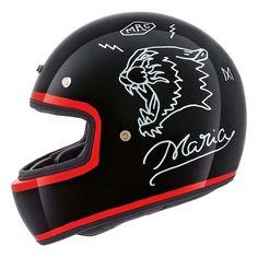 Nexx XG100 Drake Helmet - Black Full - The Cafe Racer