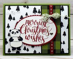Christmas Panda By Jari Cards And Paper Crafts At Splitcoaststampers