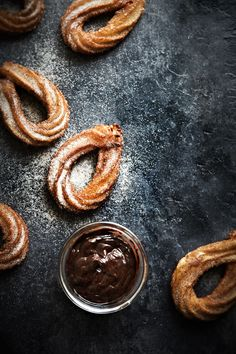#chocolate & #churros <3 #food #recipe #photography #styling by Mowie Kay at mowielicious.
