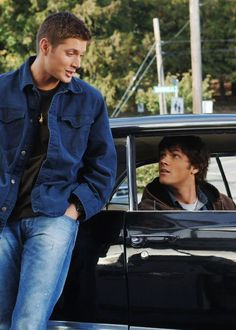 1x06 Skin - I tell them I'm on a road trip with my big brother - Sam and Dean Winchester; Supernatural