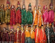 "Puppets ""Kathputli"", Rajasthan, India   by hdvegas"