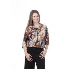 Multi Color L Versace 19.69 Abbigliamento Sportivo Srl Milano Italia Womens Shirt CAMICIA ESTER TESS. SILVIA FANT. 307