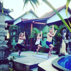 Yoga in Bali, Amed; Yoga Teacher Training www.trimurtiyoga.com #yoga #bali #yogainbali #trimurtiyoga