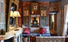 An expert guide into the top pubs with rooms in England, including the best for roaring fires, hearty menus, rustic interior design, atmospheric bard, stylish bedrooms and traditional charm, in locations including Cornwall, the Cotswolds, Yorkshire, the Lake District, Norfolk, Wiltshire and Somerset.
