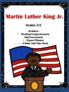 Martin Luther King Jr.- Informational Text - Great literacy activities for the classroom. #martinlutherkingjr  #literacy