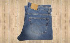 Vintage Levis 529 Jeans USA Made Mens Low Rise Straight Leg Stonewash Blue Denim Zip Fly W40 L30 by BlackcatsvintageUK on Etsy