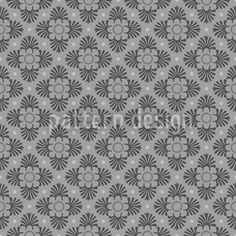 Bloom Grey by Kerstin Nolte available for download on patterndesigns.com