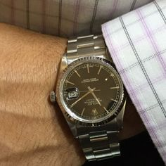 Rolex Datejust Stainless Steel Mens Watch 36mm Oyster Bracelet
