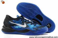 online store 5a589 5ecb3 2013 New Black Blue Shoes Womens Nike Kobe 8 Shoes Store