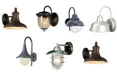 bathroom lighting from Lowe's - if go for more industrial look
