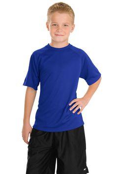 Sport-Tek Youth Dry Zone Raglan T-Shirt Y473 True Royal