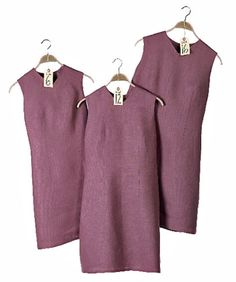 If you want to use a too-small (or too-big) pattern, you need to know the way garments differ in proportion from one size to another.