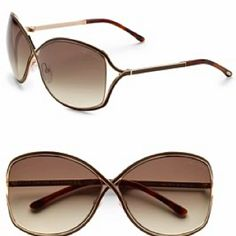 8ea162debd8 Tom Ford Rickie Sunglasses in Rose Gold-Brown Gradient w  Brown Lens
