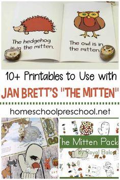10+ of the Best The Mitten Printable Activities for Preschoolers