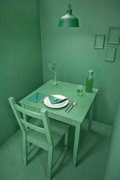 The meditative green