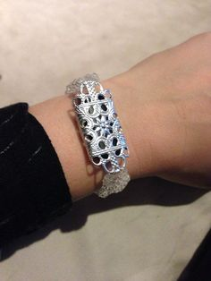 Fitbit Bracelet  silvertone by ActiveElegance on Etsy, $29.99