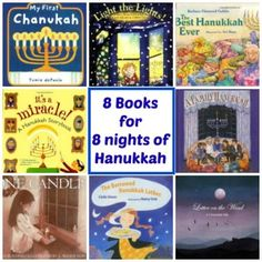 8 Books for 8 Night of Hanukkah (from Multicultural Kid Blogs)