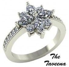 The Taveena...I love how it looks like a flower