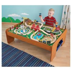 Wooden Train Play Set, 145-Piece -- Awesome products selected by ...