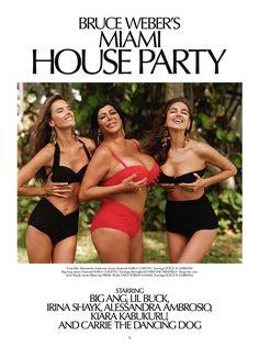 Alessandra Ambrosio and Irina Shayk Head to Miami with Bruce Weber for CR Fashion Book