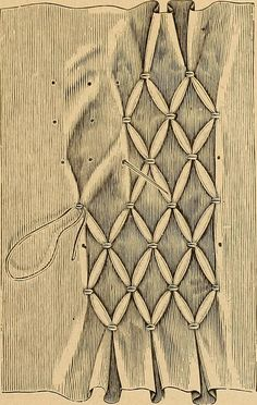 Image from page 12 of Smocking fancy stitches and cross stitch and darned net de. - Image from page 12 of Smocking fancy stitches and cross stitch and darned net designs - Smocking Tutorial, Smocking Patterns, Embroidery Patterns, Diy Tutorial, Smocking Baby, Folk Embroidery, Hand Embroidery Stitches, Ribbon Embroidery, Stitch Patterns