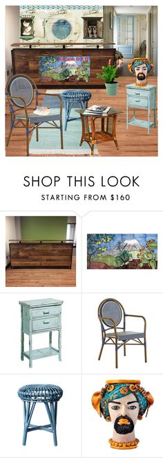 """Updating an Ugly B&B: Reception area blahs...."" by nicolevalents ❤ liked on Polyvore featuring interior, interiors, interior design, home, home decor, interior decorating, Pier 1 Imports, Bloomingville, Sicily & More and Theo Fennell"