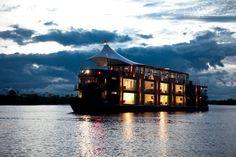 Jordi Puig diseñó Aqua Expeditions un proyecto arquitectónico que acerca a los visitantes a explorar el Río Amazonas