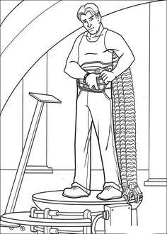 Spiderman Målarbilder för barn. Teckningar online till skriv ut. Nº 13