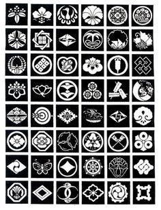 Kamon designs