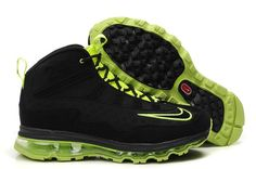 Nike Air Max JR Fall 2011 Ken griffey sneakers in black green 9c289aa325
