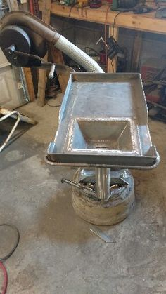 Metal Projects, Welding Projects, Diy Craft Projects, Forging Knives, Forging Tools, Cool Tools, Diy Tools, Brake Drum Forge, Coal Forge