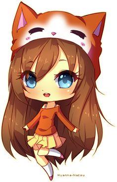 fille cute avec bonnet renard ♥♥♥