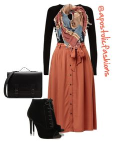 """Apostolic Fashions #1778"" by apostolicfashions on Polyvore featuring Falke, BP. and Tabitha Simmons"