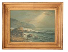 Anna Hackathorn Inc - Sunny Seascape, $899.00 (http://artshop.artsandhomes.com/sunny-seascape/)