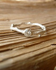 Hey, I found this really awesome Etsy listing at https://www.etsy.com/listing/168361094/silver-moissanite-branch-ring
