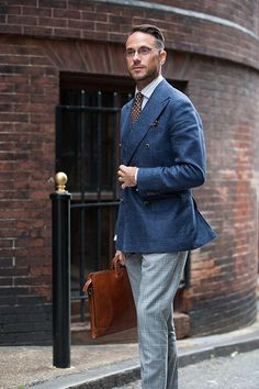 Suitsupply Double Breasted Blazer - He Spoke Style (frame: Executive II)