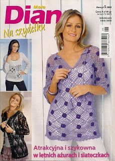 Crochet Moda Diana - AM - Revistas de Manualidades