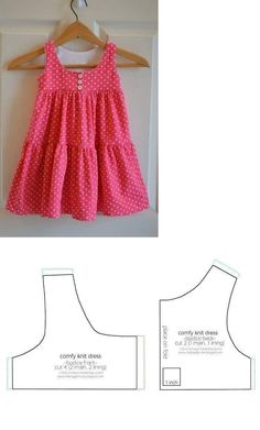 Best 12 Baby Dress Patterns, Sewing For Kids, Baby Sewing, Baby Born, Diy For Gi… - Baby Dresses Baby Girl Dress Patterns, Baby Clothes Patterns, Sewing Patterns For Kids, Dress Sewing Patterns, Clothing Patterns, Knitting Patterns, Skirt Patterns, Coat Patterns, Blouse Patterns