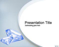 Free Diamond PowerPoint (PPT) presentation Template