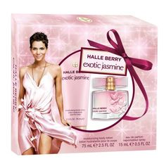 Halle Berry Exotic Jasmine  Fragrance 2 Piece set .5 oz Eau de Parfum $13.50