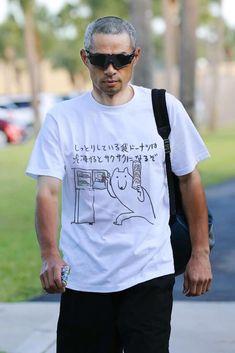 Twitter Japanese Funny, Japanese Street Fashion, Baseball Players, Laughter, Tee Shirts, Jokes, Street Style, Humor, Mens Tops