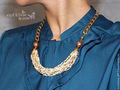 Модное ожерелье за час! - Ярмарка Мастеров - ручная работа, handmade
